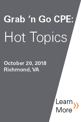 Grab 'n Go CPE - Hot Topics Banner