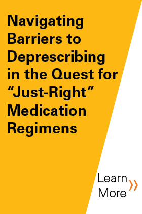 Navigating Barriers to Deprescribing in the Quest for