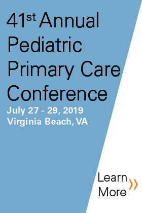 41st Annual Pediatric Primary Care Conference - Pediatrics at the Beach Banner