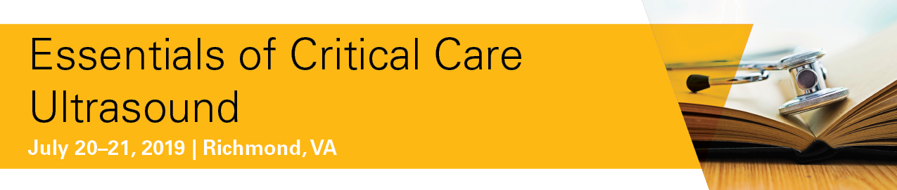 Essentials of Critical Care Ultrasound Banner