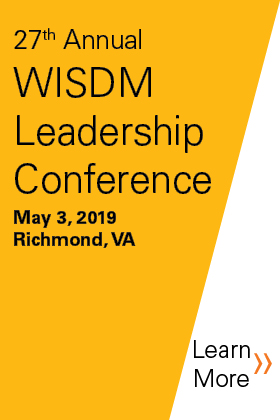 27th Annual WISDM Leadership Conference 2019 Banner