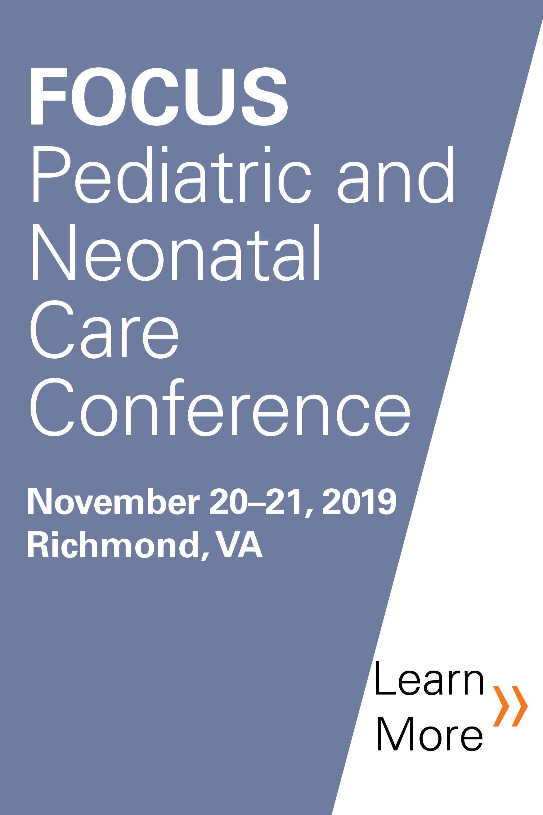 7th Annual FOCUS: Pediatric Pharmacology, and Pediatric and Neonatal Care Conference Banner