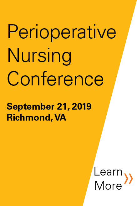 2019 Perioperative Nursing Conference Banner