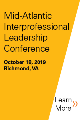 2019 Mid-Atlantic Interprofessional Leadership Conference Banner