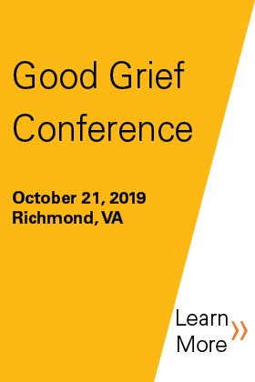 2019 Good Grief Conference Banner