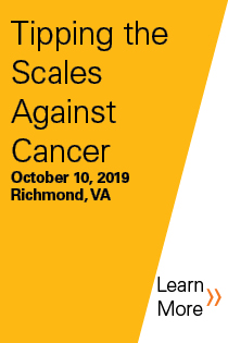 Tipping the Scales Against Cancer Banner