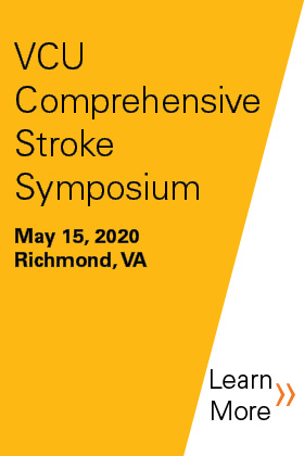 2020 VCU Comprehensive Stroke Symposium: The Heart Beat of Stroke Banner