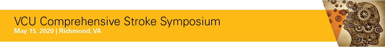 2020 VCU Comprehensive Stroke Symposium Banner
