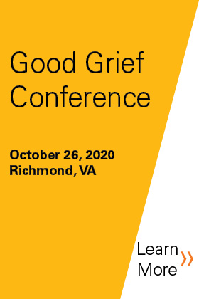 30th Annual Good Grief Conference Banner