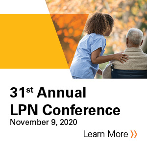 31st Annual LPN Conference Banner