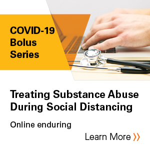 Treating Substance Abuse during Social Distancing Banner