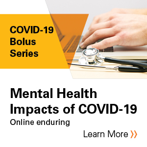 Mental Health Impacts of COVID-19 Banner