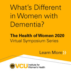 HOW What's Different in Women with Dementia? Banner