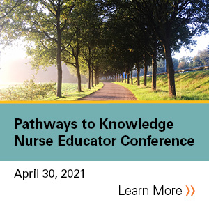 2021 Pathways to Knowledge: Nurse Educator Conference Banner