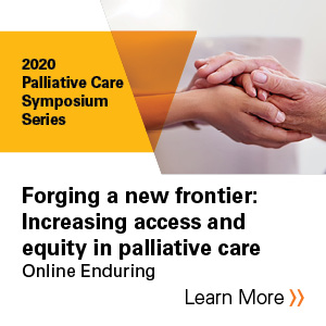 Forging a new frontier: Increasing access and equity in palliative care Banner
