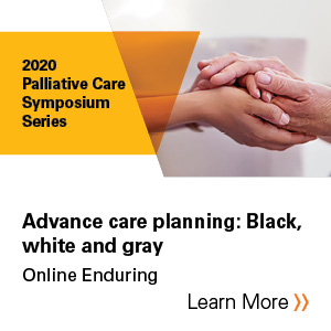 Advance care planning: Black, white and gray Banner