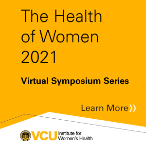 The Health of Women 2021 Banner