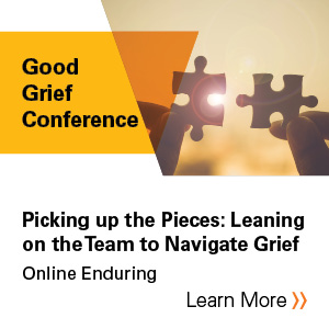 Picking up the pieces: Leaning on the team to navigate grief - Panel discussion Banner