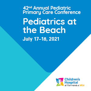 42nd Annual Pediatric Primary Care Conference: Pediatrics at the Beach Banner