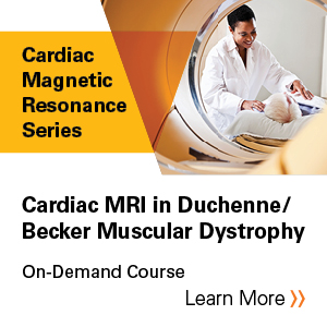 CMR Cardiac MRI in Duchenne/Becker Muscular Dystrophy Banner