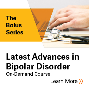 Latest Advances in Bipolar Disorder Banner