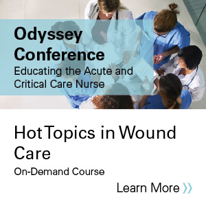 Hot topics in wound care Banner