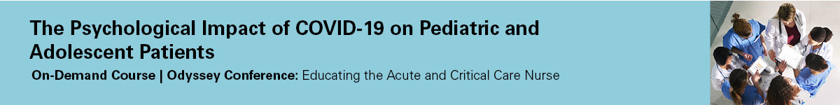 The psychological impact of COVID-19 on pediatric and adolescent patients Banner