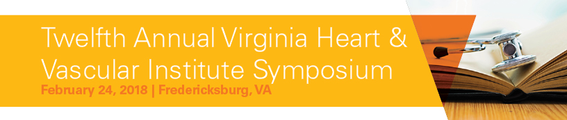 Twelfth Annual Virginia Heart & Vascular Institute Symposium Banner