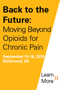 Back to the Future: Moving Beyond Opioids for Chronic Pain Banner