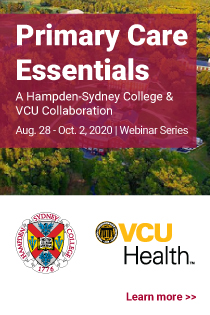 Primary Care Essentials: A Hampden-Sydney & VCU Collaboration Banner