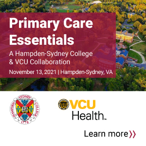 2021 Primary Care Essentials: A Hampden-Sydney College and VCU Collaboration Banner