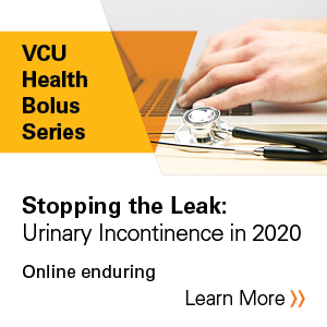 Stopping the Leak: Urinary Incontinence in 2020 Banner