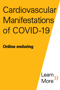 Cardiovascular Manifestations of COVID-19 Banner