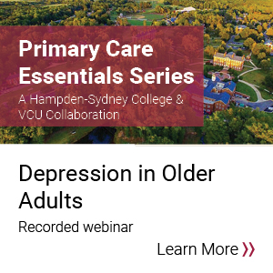 Primary Care Essentials- Depression in Older Adults Banner