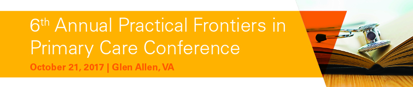 6th Annual Practical Frontiers in Primary Care Conference Banner