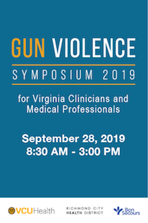 Virginia Clinicians' Gun Violence Prevention Training Banner
