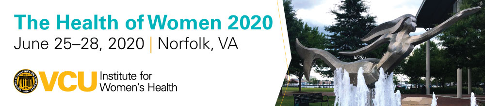 The Health of Women 2020 Banner